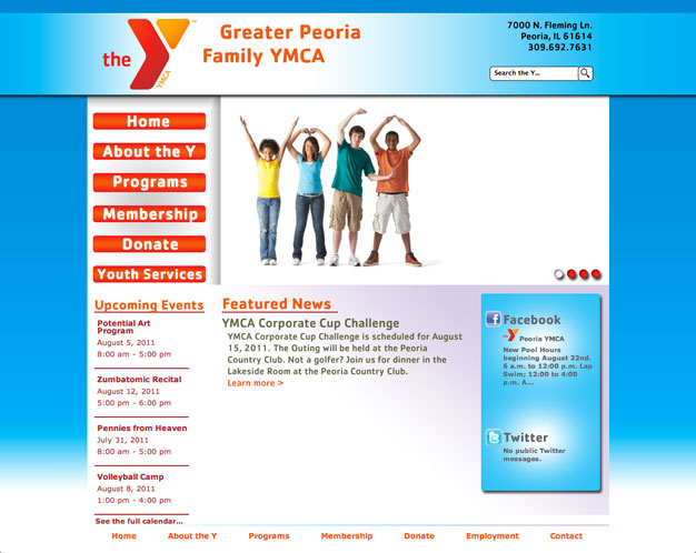 Greater Peoria Family YMCA (Full Site)